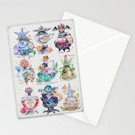 Magic potions Stationery Cards