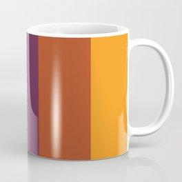 Dark Color Stripes Background Coffee Mug