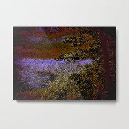 Autumn At The Lakeshore Metal Print