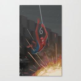 Arachnid man Canvas Print