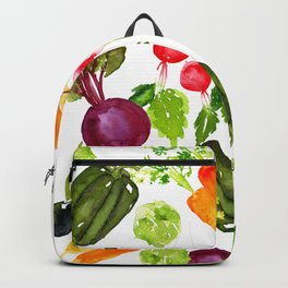 Mixed Vegetables Backpack