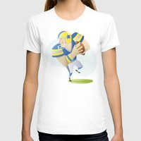 football T-shirts featuring Football by Dues Creatius