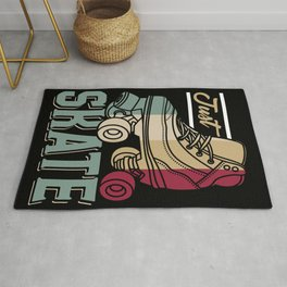 Just Skate | Retro Roller Skating Rug