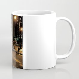 manhattan bridge at night Coffee Mug