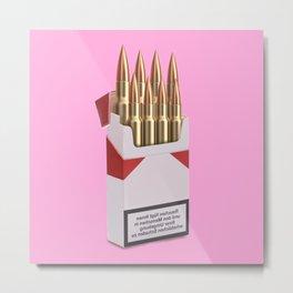 fast as bullets Metal Print