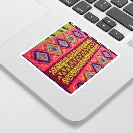 Colorful Guatemalan Alfombra Sticker