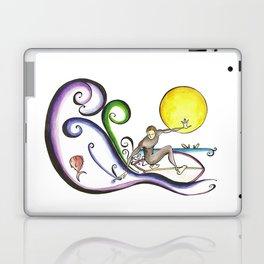 Fish Surfer  Laptop & iPad Skin
