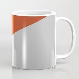Orange Colorblock  Coffee Mug