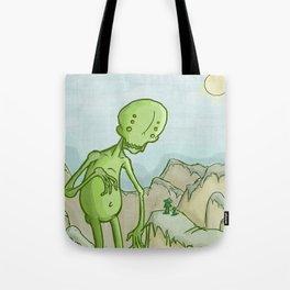 Big Ghoul Tote Bag