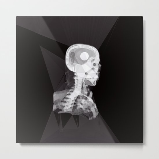 X-Rays and Triangles Metal Print