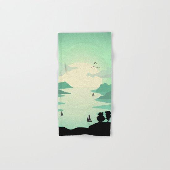Sunrise of love Hand & Bath Towel