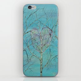THE TREES SPEAK TO ME IN WHISPERS iPhone Skin