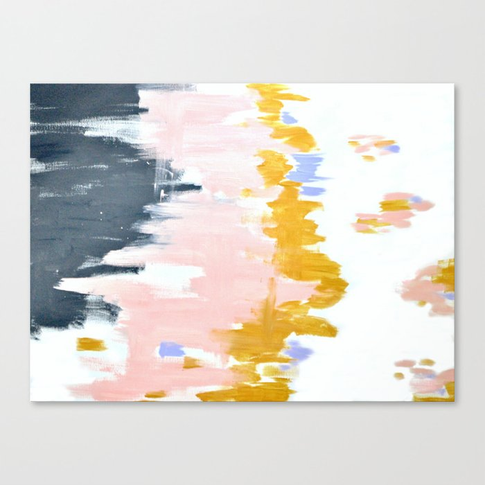 Multicolor spring abstract Canvas Print