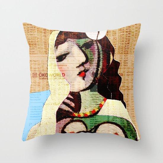 Picasso Women 5 Throw Pillow