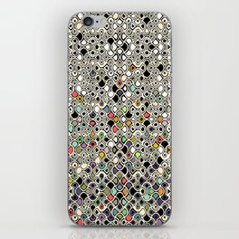 cellular ombre iPhone Skin