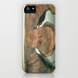 canyon country flow horseshoe bend arizona iPhone Case