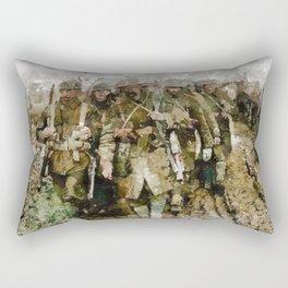 Ghosts of World War One Rectangular Pillow