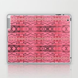 Vintage Tribal Distressed Coral Pink Laptop & iPad Skin