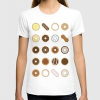 donuts T-shirts featuring Donuts by Dorothy Leigh