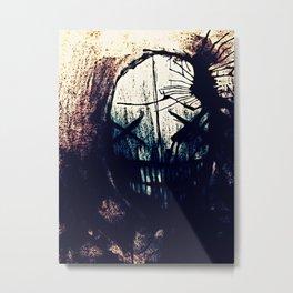BLOT Metal Print