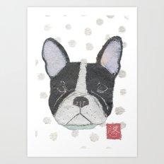 French Bulldog, FRENCHIE, Dog Art Print