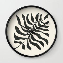 minimal plant 9 Wall Clock
