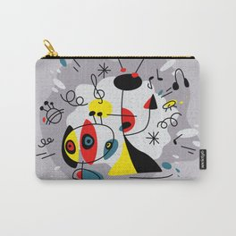 Music inspired by Joan Miro#illustration Carry-All Pouch