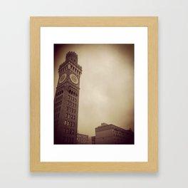 .tower. Framed Art Print