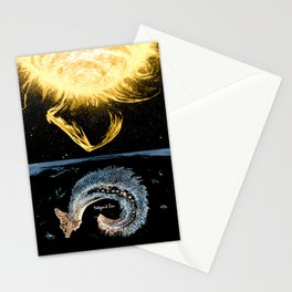 Life on the event horizon 4 Stationery Cards