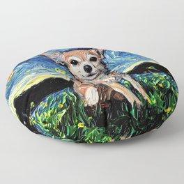 Chihuahua Night Floor Pillow
