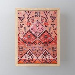 Epic Rustic & Farmhouse Style Original Moroccan Artwork  Framed Mini Art Print