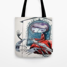 [picture of bad dream ] Tote Bag