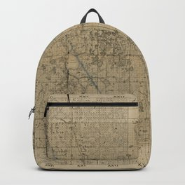 Map of Polk County, Florida (1883) Backpack