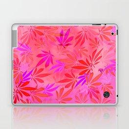 Blush Cannabis Swirl Laptop & iPad Skin