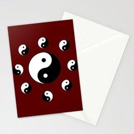 Yin and Yang 20- Tao,Zen,Taoism,Dao,Harmony,religion,buddhism,buddhist,taijitu,taiji,taoist,china Stationery Cards