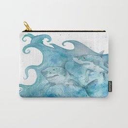 What If... Sharks had arms? Carry-All Pouch