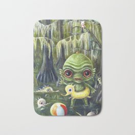 Baby Creature from the Black Lagoon Bath Mat