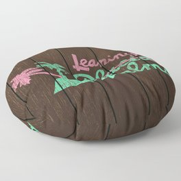 Leaning Palms Floor Pillow