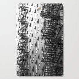 Chicago fire escapes Cutting Board