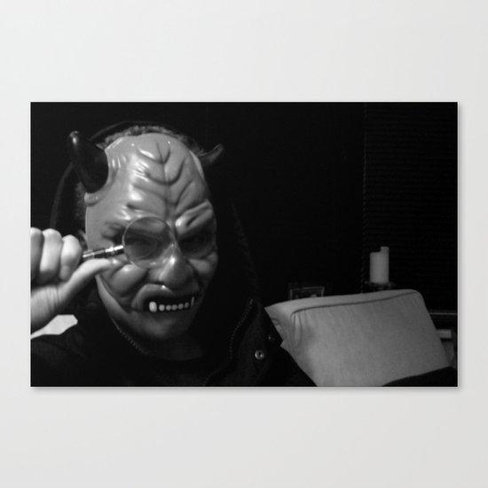 Inspector Devil  Canvas Print