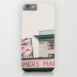 Pikes Place- Seattle iPhone Case