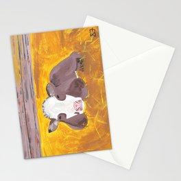 A Heifer Calf Named Darla Stationery Cards