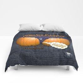 Pumpkin Pie Spice Comforters