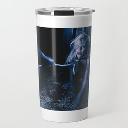 Rope noose - Nude woman with a noose around her neck Travel Mug