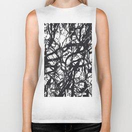 Black Trees Biker Tank