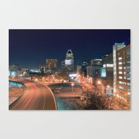 baltimore Canvas Prints featuring Baltimore by Andrew Mangum