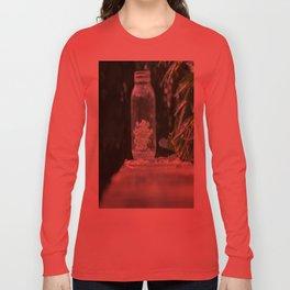 Queen Anne's Lace/Jar w/ bokeh Long Sleeve T-shirt