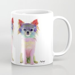 Colorful Chihuahua Coffee Mug