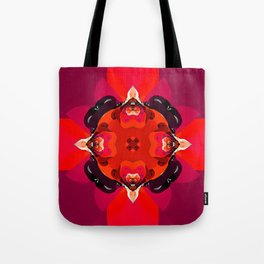 Abstract Design 92 - Burgundy Tote Bag