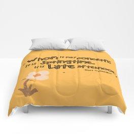 Springtime Comforters